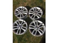 Vauxhall 17inch alloys