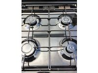 BEKO Double Oven BDVG697KP Gas Cooker