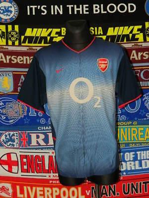 39434e5db 4 5 Arsenal adults XL 2002 away football shirt jersey trikot soccer .