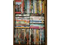 Joblot of 75+ mixed DVDs (films, tv series, comedy, action, romantic) job lot collection carboot