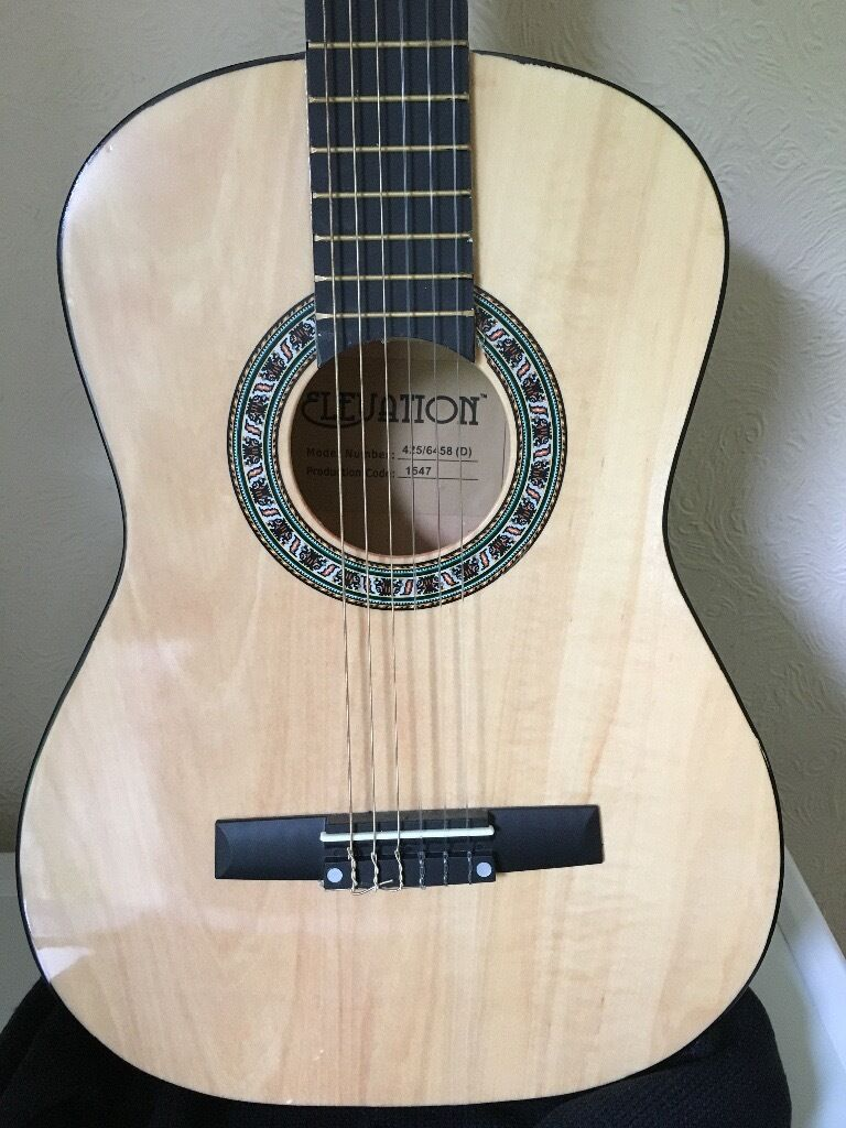 FOR SALE: Elevation 3/4 Size Acoustic Guitar, BRAND NEW.