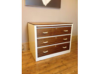 Chest of drawers - with pull out desk