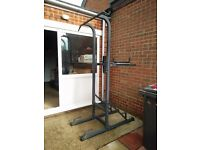Exercise Workout Tower - chin up, push up bar etc