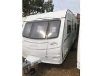 Coachman pastiche 560 2011 4 berth fixed bed with motor mover