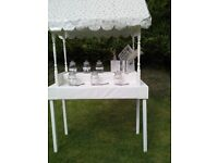 Sweet carts. 2 meters high. MDF. Home made. Ideal for weddings or other events