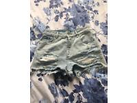 Superdry jean shorts