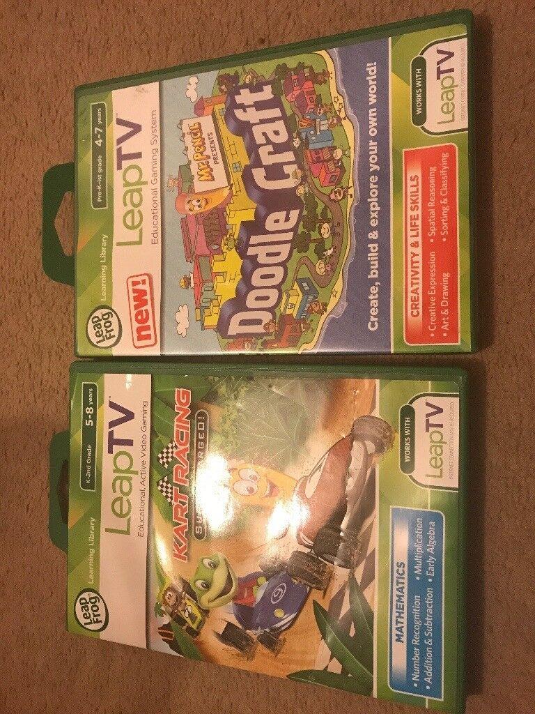 Leap TV games