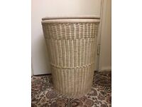 Laundry basket with lid in very good condition only £12