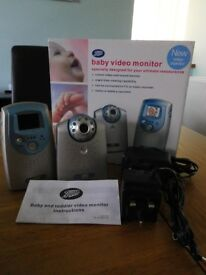 Boots Baby Video Monitor