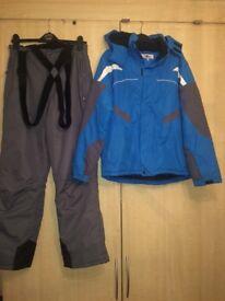 Ski jacket & Salopettes boys age 13/14