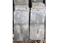 Delabole reclaimed slate 20 x 10 inches