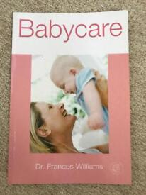 Babycare Book - Dr Frances Williams
