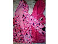 2 girls coats age 3-4 Peppa pig & Minnie mouse