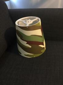 Army style lampshade