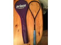 Squash racket extender lite 185 with case cf390805