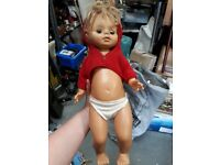 Doll. Vintage collectible kids toy