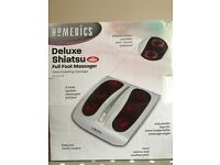 Homedics Deluxe Shiatsu Full Foot Massager
