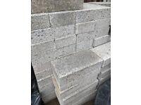 70 solid dense concrete blocks