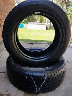 ONE PAIR OF 215/55/R16 TYRES Birmingham Gardens Newcastle Area Preview