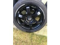 Rota Alloys wheels with tires ford