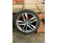 Audi rs6 style wheels 21