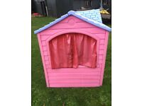 Little tikes pink house