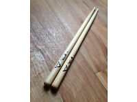 Drum Sticks - 7A Vater SugarMaple - Lightweight - Used literally ONCE