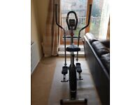 2-in-1 Cycle & Elliptical Trainer, barely used. Use as a stationary bike or elliptical trainer