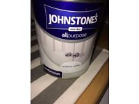 TWO TINS OF JOHNSTONE'S UNDERCOAT