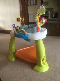 Baby bouncer activity zone