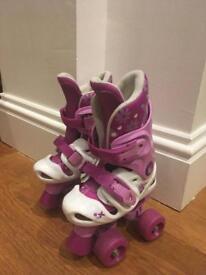 Roller skates boots adjustable size 10 11 12 13