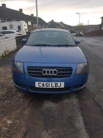 Audi tt very good condition blue colour.