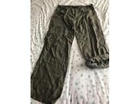 C River island linen trousers 14