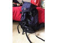 Eurohike navy backpack