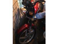 LIFAN 125 motorbike CBT LEARNER BIKE