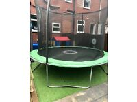 Sportspower 10ft trampoline with safety net