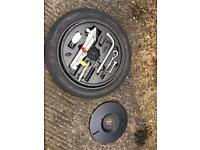 Audi TT mk1 spare wheel space saver with tool kit