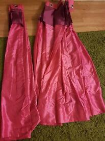XL Pink & Purple Curtains *BRAND NEW*