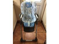 High chair chicco