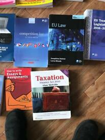 Law books (all types)