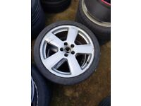 "Audi S-Line a4 a3 Ronal 18"" Genuine Alloy Wheel SINGLE wheel"