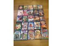 25 children's DVDs. Some new and sealed. Some Disney.