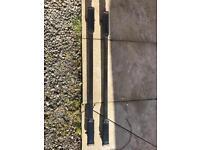 Farad closed rail roof bars