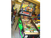 WANTED ARCADE PINBALL MACHINE FULL SIZE