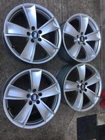 "18"" 5x112 genuine Italian alloy wheels Vw Audi Mercedes"