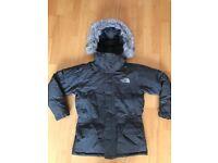 North Face McMurdo Parka Goose Down Jacket Coat Boys Size Small