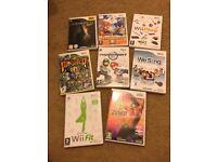 Nintendo Wii and games bundle