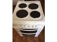 Iberna hce520w Electirc Freestanding Cooker + Hob