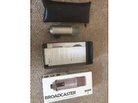 Rode Broadcaster condensor microphone