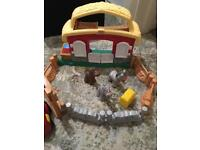 Fisher price little people stable